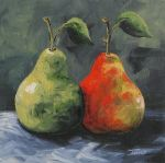 More Green and Red Pears EBSQ