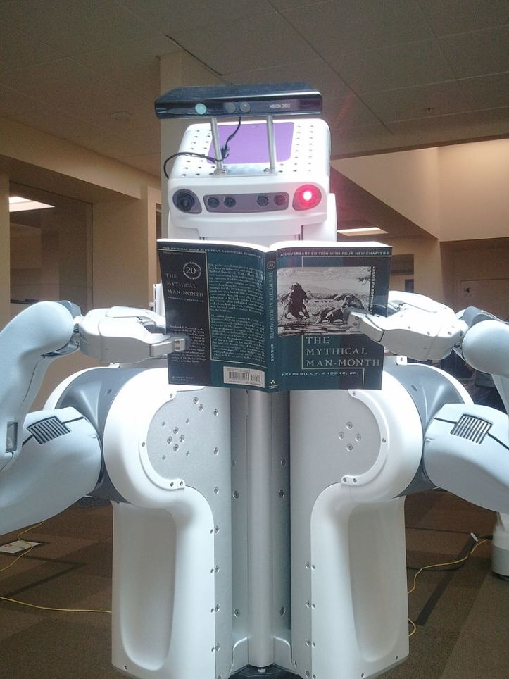 Robot Reading Mythical Man Month-2