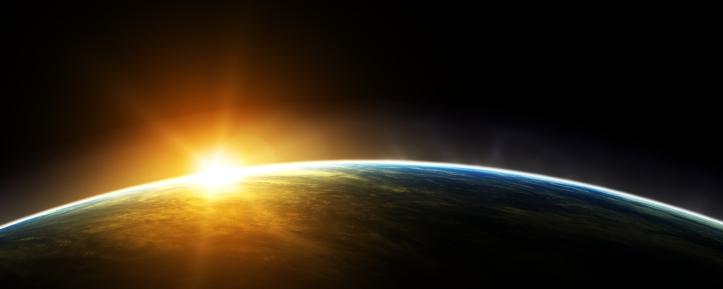 sun-rise-in-earth-orbit
