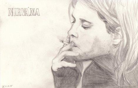 Sketch_of_Kurt_Cobain_by_DieDiablo