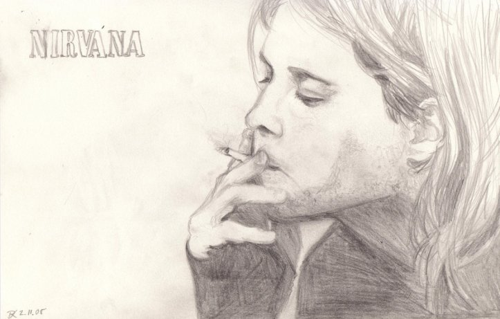 Sketch_of_Kurt_Cobain_by_DieDiablo