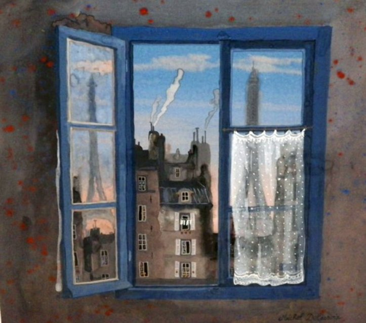 Michel_Delacroix_Through_a_Window